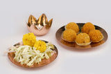 Anaya Platter Set - Copper (set of two) - Vilaasita  - 2