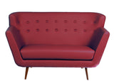 Scandinavian Sofa - Red - Vilaasita  - 3