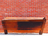 19th Century Solid French Oak Dough Bin Kitchen Island or Shop Unit - erfmann-vintage