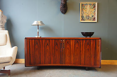 Danish Rosewood INTER-X Very Heavy Sideboard Office. - erfmann-vintage