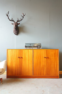 Vintage Sideboard Entertainment, Record Cabinet. - erfmann-vintage