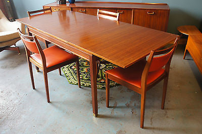 Mid Century E-Gomme for G-Plan Teak Dining Table & 4 Chairs. - erfmann-vintage