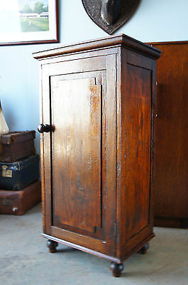 Antique Victorian Oak Pot Cupboard Cabinet. - erfmann-vintage