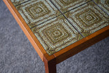 Mid Century Vintage Retro Large Ceramic Tiled Coffee Table