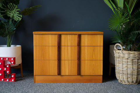 Mid Century Vintage Teak Unit Set of Drawer by E Gomme for G Plan