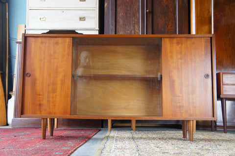 Vintage Retro Teak Scandinavian Sideboard Entertainment Unit - erfmann-vintage