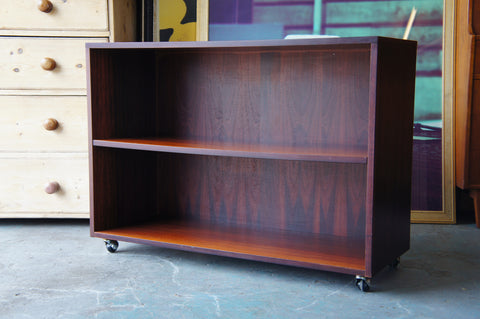 Contemporary Rosewood Bookcase/Shelving Unit - erfmann-vintage