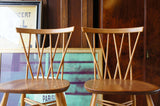 Mid Century ERCOL Windsor Dining Chairs x 4 Elm & Beech - erfmann-vintage