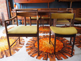 Vintage Mid Century McINTOSH Dining Table & 6 Chairs - erfmann-vintage