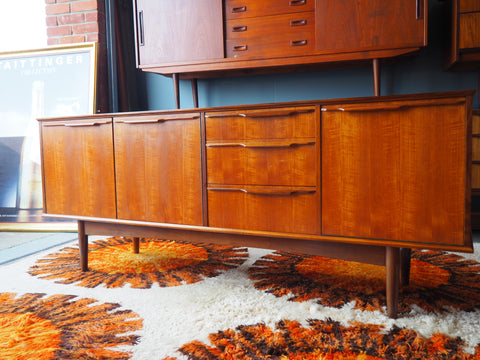Vintage Morris of Glasgow Teak Sideboard Dated 1966 - erfmann-vintage