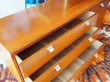 Vintage Retro Teak Unit Storage Filing Cabinet Drawers - erfmann-vintage