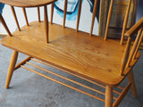 Vintage Mid-Century Chippy Heath Elm Telephone Seat/Table - erfmann-vintage