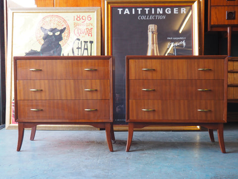 Two Quirky Retro Chest Of Drawers - Will Sell Separately - erfmann-vintage