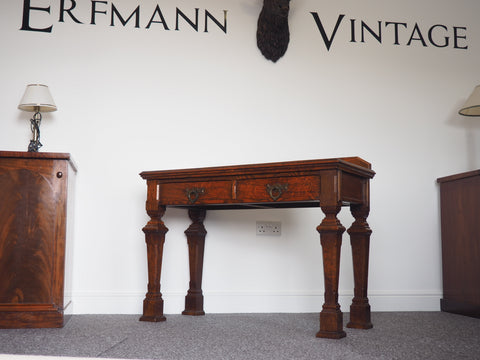 19th Century Pugin-Style Side Table / Desk - erfmann-vintage