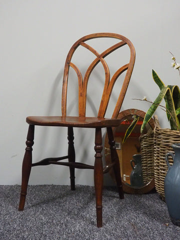 Early 20th Century Handmade Bentwood Chair in Elm - erfmann-vintage