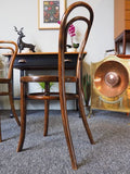 Vintage Pair of Early 20th C. THONET Bentwood Dining Chairs - erfmann-vintage