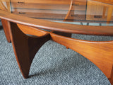 Mid Century 'Astro' Coffee Table by VB Wilkins for G Plan - erfmann-vintage