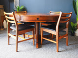 Mid Century Bridgeford Rosewood Dining or Centre Table Robert Heritage for Archie Shine - erfmann-vintage