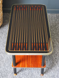 Mid Century 1950s Atomic Age 'Starburst' Rectangular Coffee Table - erfmann-vintage