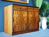 Mid Century Rosewood Sideboard Entertainment Unit Staples Deauville Range
