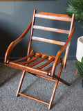 Antique 19th Century Campaign Folding Chair