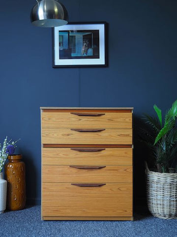 Mid Century Vintage Retro Chest of Drawers