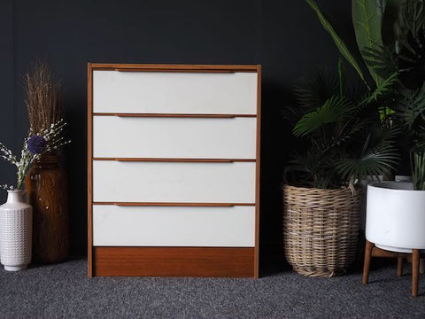 Mid Century Vintage Scandi Danish STEENS Chest of Drawers