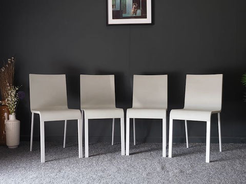 Vitra .03 Dining Chairs Model 21324151 Maarten Van Severen - Set of 4