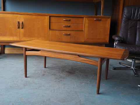 Mid Century Coffee Table G-Plan Fresco Range in Teak - erfmann-vintage