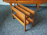 Mid Century Magazine Rack by Guy Rogers for Fyre Lady of Banbury - erfmann-vintage