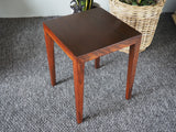 Danish Mid Century Side Table Lamp Table in Rosewood - erfmann-vintage