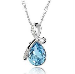 Elegant Cystal Necklace Set