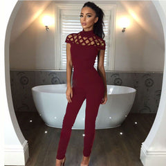 Choker High Neck Playsuit