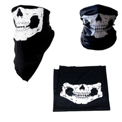 Skull full face and neck mask