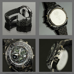 Men's Digital Quartz Watch