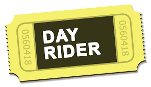 One-day riders pass