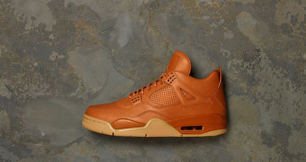 AIR JORDAN 4 RETRO PREMIUM 'GINGER' LAUNCHING OCT 29 at ATMOS NYC