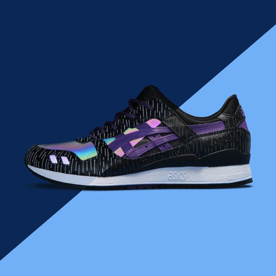 "ASICS x atmos GEL LYTE III ""Midnight Tokyo"" launching in OCTOBER 2016"