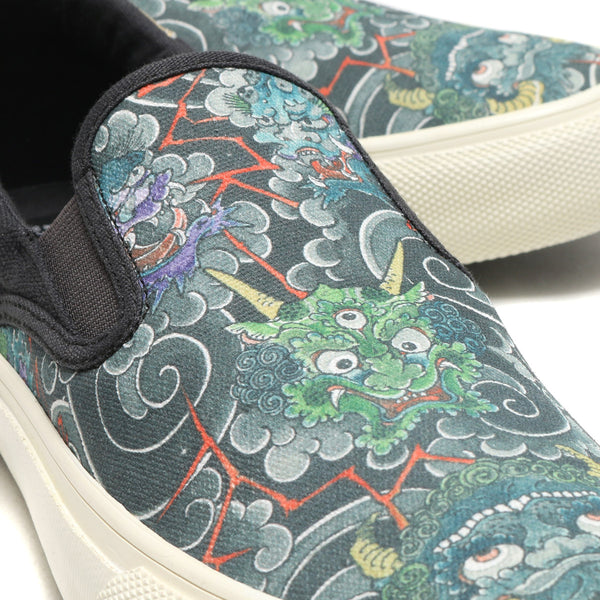UBIQ HOGGE THREE TIDES TATTOO (Kimen Chirashi) Designed by GANJI BLACK