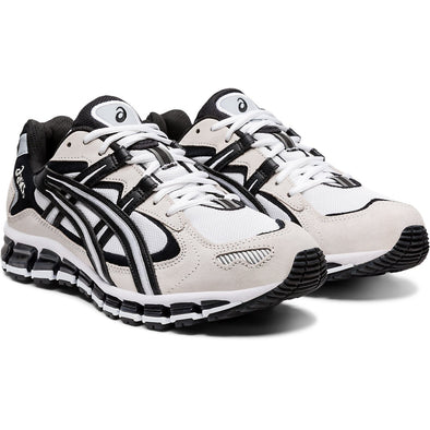 MEN'S ASICS GEL-KAYANO 5 360 - WHITE/BLACK