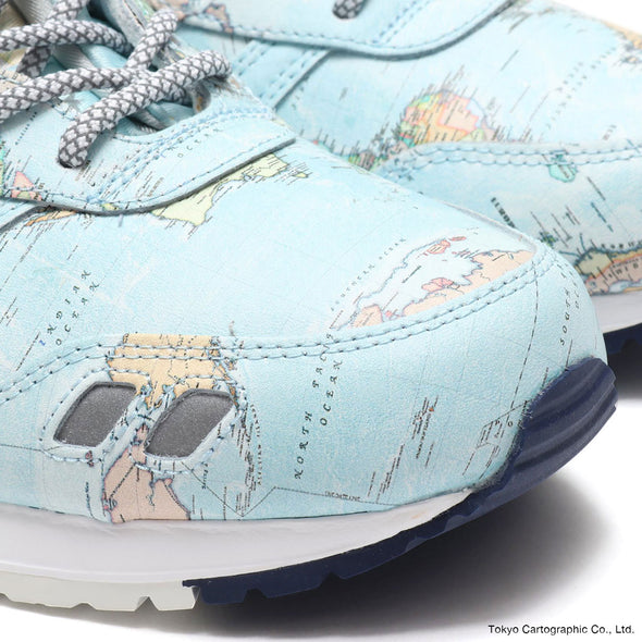 "ASICSTIGER GEL-LYTE III ""WORLD MAP"" for atmos -SKY / PEACOAT"