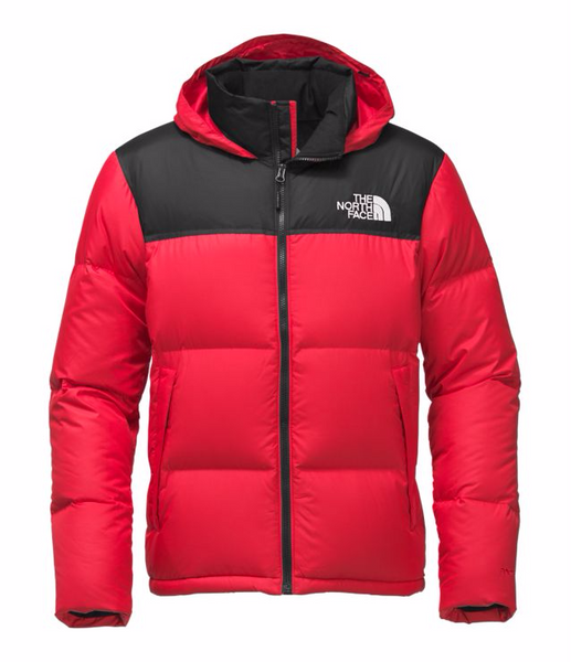 a4c120c638 THE NORTH FACE MEN S NOVELTY NUPTSE JACKET - TNF RED   TNF BLACK – Atmos  New York
