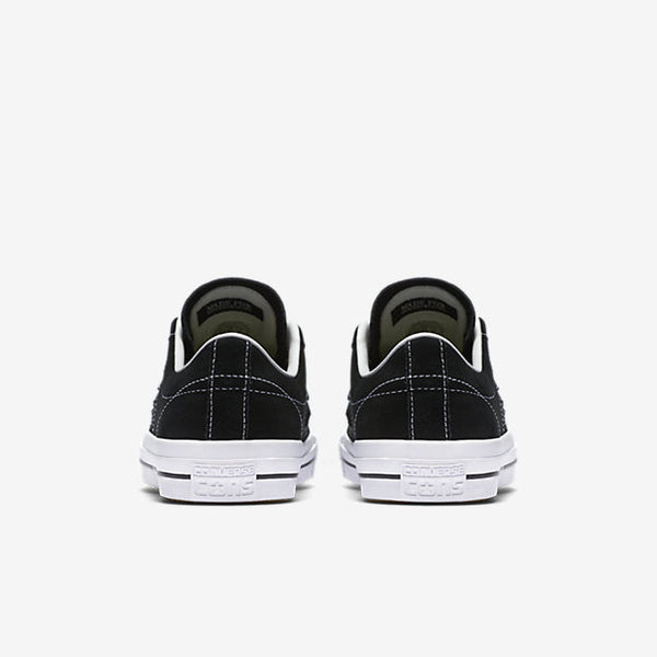 CONVERSE CONS ONE STAR PRO LOW TOP - BLACK