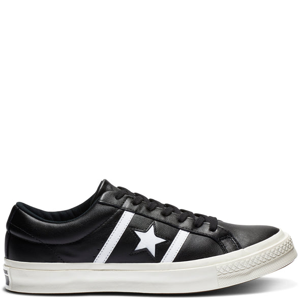 One Star Academy Low Top - Black/White/White