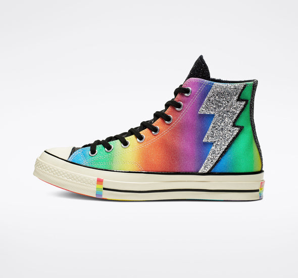 Chuck 70 PRIDE High Top - Multi/Black