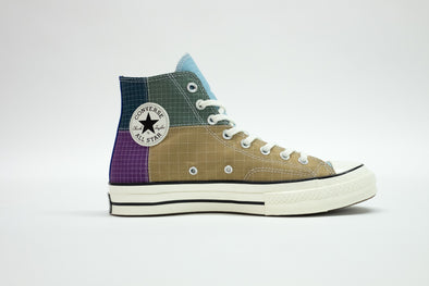 CONVERSE CHUCK 70 HI POLYESTER - DEWBERRY/ICED COFFEE/EGRET