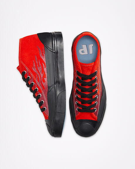 Men's Converse x A$AP NAST Jack Purcell Chukka Archive Flame - Cherry Tomato