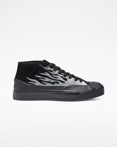Men's Converse x A$AP NAST Jack Purcell Chukka Archive Flame - Black/Silver