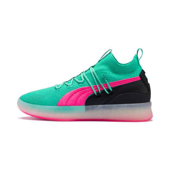 PUMA CLYDE COURT MEN'S BASKETBALL SHOES - Biscay Green
