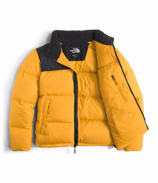 0a8776de8c ... THE NORTH FACE MEN S NOVELTY NUPTSE JACKET - TNF YELLOW   TNF BLACK ...